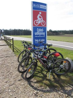 Mountain bike udlejning i Houstrup